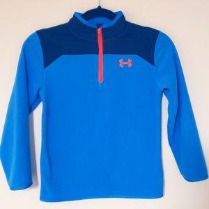 Boys Fleece Pullover Quarter Zip Sweatshirt